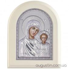 Икона Божией Матери «Казанская» в серебре