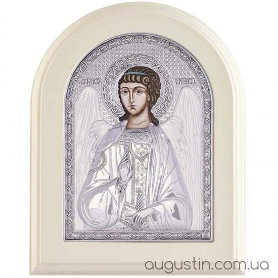 Икона «Ангел Хранитель» в серебре