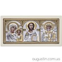Икона Святых триптих в машину